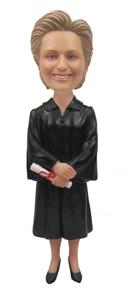 Real Peeps Cake Topper Female #11 - Female Graduate
