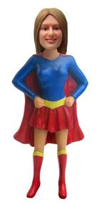 Real Peeps Cake Topper Female #13 - Supergirl/Superhero