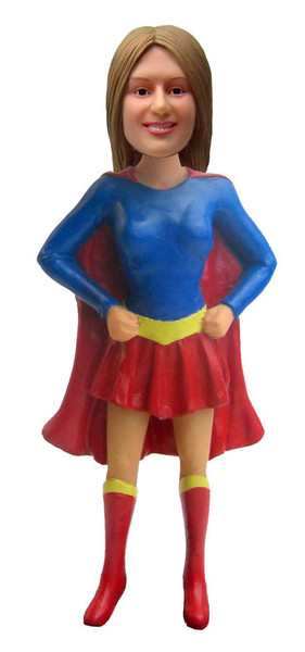 Real Peeps Cake Topper Female #13 - Supergirl/Superhero