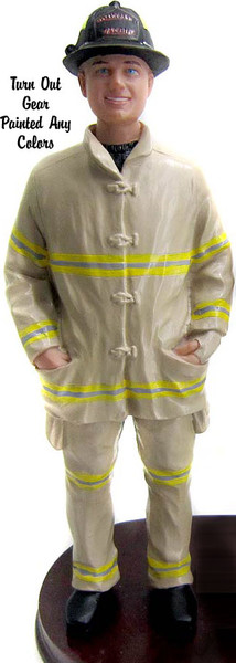 Firefighter groom figure