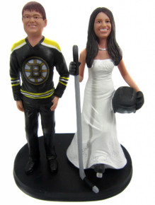 hockey player wedding cake topper hockey wedding cake toppers 15259