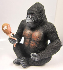 King Kong Custom Wedding Cake Topper