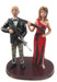 Zombie Hunting Couple Custom Wedding Cake Topper (Quick Ship)