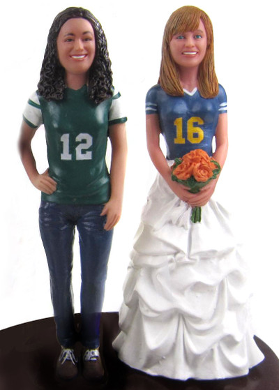 Same Sex Brides Sports Topper