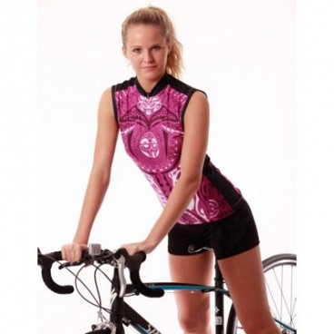 YMX Pacific Tribal Sleeveless Cycling Jersey. Your Price   65.00 (You save   33.00). Image 1 0d35dc1c6