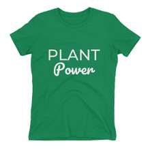 Plant Power Women's Soft T-Shirt