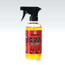 Works quickly to remove all tapes and soft adhesive from skin &  cap.