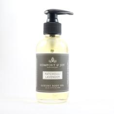 Patchouli Lavender Body Oil