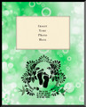 Life is Precious Green Vertical Picture Frame (Insert Your Photo)