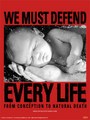 Defend Life Poster
