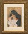 Mother's Love Matted - Gold Framed Art