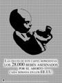 Spanish Abortion Crosses Poster