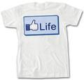 """Life"" Thumb T-Shirt"