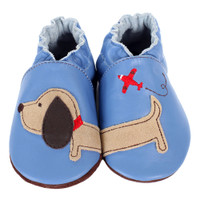 Boy Dachshund Baby Shoes