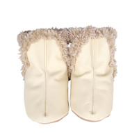 Classic Baby Boots, Cream