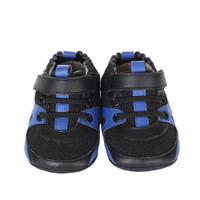 Robeez Henry Mini Shoez, Black, Boys, Baby, Infant, Pre-Walker, Toddler, Shoes, 3-24 Months