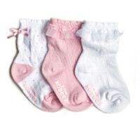 Baby Girl Socks, 3-Pack