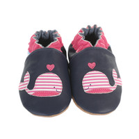 Kelly the Whale Baby Shoes