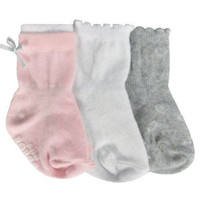 Girly Girl Basics Socks, 3-Pack
