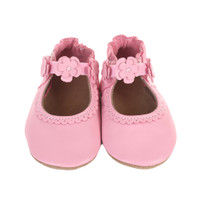 Claire Mary Jane Baby Shoes, Pink