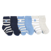 Rugby Star Socks, 6-Pack