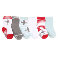 Aviator Games Socks, 6-Pack