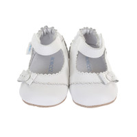 Catherine Baby Shoes, White