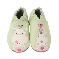 Happy Hippos Baby Shoes