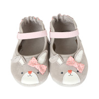 Bunny Face Mary Jane Baby Shoes
