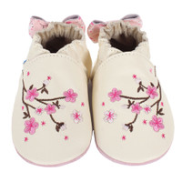 Cherry Blossoms Baby Shoes