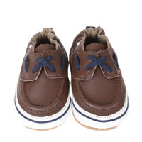 Connor Baby Shoes, Brown
