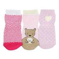 Little Bear Hug Baby Socks, 3-Pack