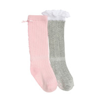 Lacy Lucy Baby Socks, 2-Pack