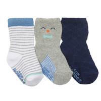 Little Penguin Baby Socks, 3-Pack