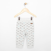 Reversible grey cotton pants for babies and infants.  Part of our new baby apparel collection