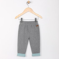 Grey french terry pants for babies and infants.  Part of our new baby clothing line.