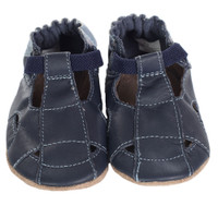 Fisherman Sandal Baby Shoes, Navy