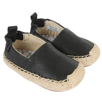 Black leather baby girl shoes.  Soft Soles and cushioned insoles.