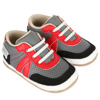 Boys baby shoes that look like athletic sneakers.  Baby, Infant and Toddler Mini Shoes.