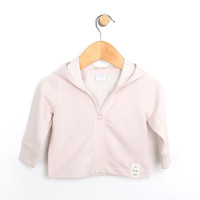 Baby jacket for girls.  French Terry jacket for infants, toddlers and babies.