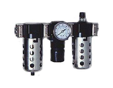 "Arrow Pneumatics C33454 Air Filter Regulator Lubricator Combo 1/2"" NPT"