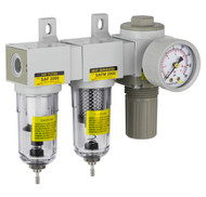 """SAU Series Mini Three Stage Air Drying System 1/4"""" NPT (SAU2030-N02G)"""