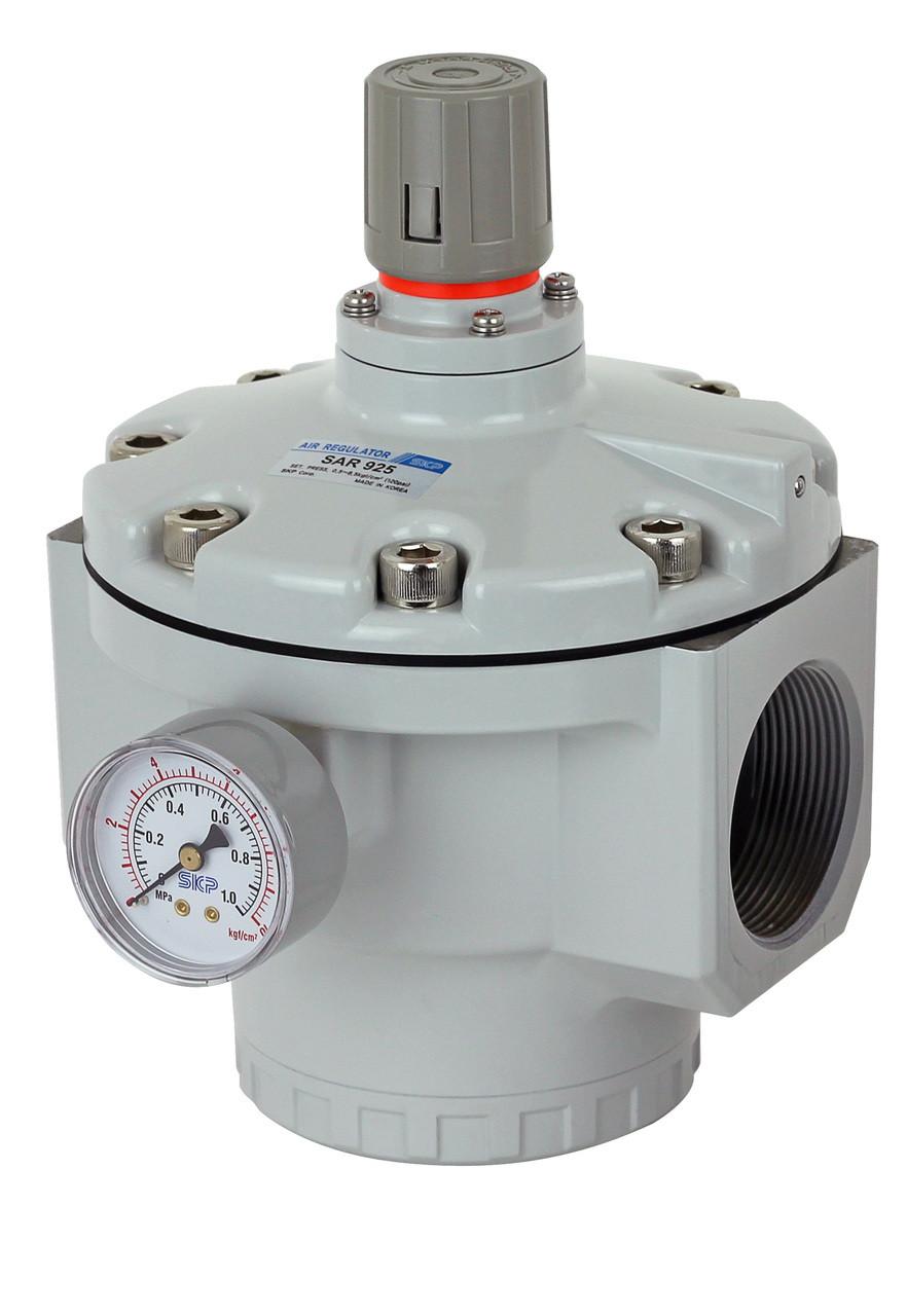 Air Pressure Regulator Sar925 N20bg 2 Quot Npt Pneumaticplus