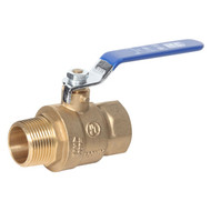 Full Port Brass Ball Valve (Male to Female)