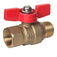Mini Brass Ball Valve (Male to Female)