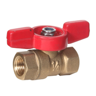 Mini Brass Ball Valve (Female to Female)