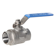 2 Piece Stainless Steel Ball Valve (Female to Female)