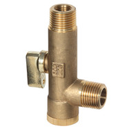 Ball Valve Strainer Combination (Male to Male)