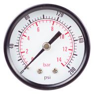 Pressure Dry Gauge - Standard Back Mount
