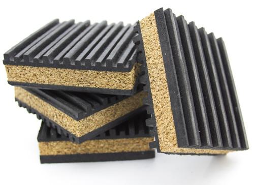Anti Vibration Pads Rubber Amp Cork